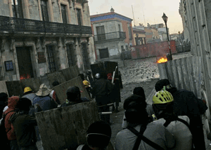 Oaxaca, November 25, 2006
