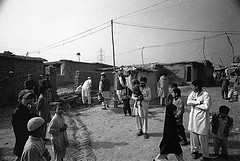Inhabitants of the Azakhel Afghan Refugee Camp by nicolas - نيكولس