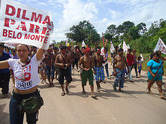 A march to the Xingu River by International Rivers