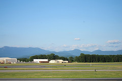 Burlington Airport by biberfan