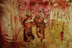 Free Tibet! by Almita Ayon