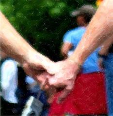 Hand In Hand  (Southern Maine Pride 2009) by Sam T (samm4mrox)
