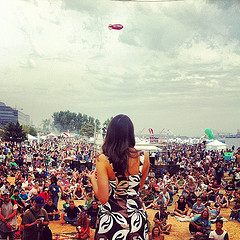 @jodieemery speaking on the main stage today at #Seattle #Hempfest 2012 #marijuana #activism #freemarc by Cannabis Culture