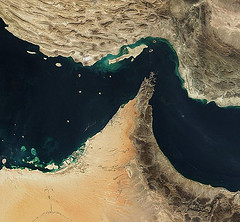 Strait of Hormuz  by eutrophication&hypoxia