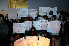 Silent Protest at India Gate by ramesh_lalwani