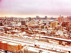 Kiev in snow by Taras Kalapun