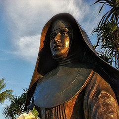 Mother Marianne Cope statue by billsoPHOTO