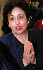 NOBEL LAUREATE SHIRIN EBADI by anaelisafoto