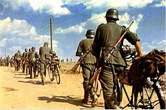 Soldados alemanes compañia de bicicletas by josemite23
