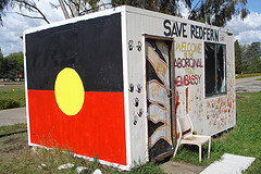 Aboriginal tent embassy, canberra by feral arts