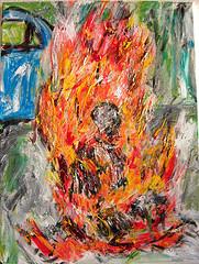 Thích Quảng Đức by Steve.D.Hammond.