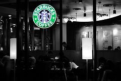 Umeda Starbucks by jpellgen