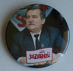 Solidarity Lech Walesa Button by Mpls55408