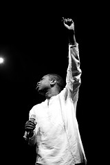 Youssou n'Dour at the Nice Jazz Festival 2009 2 by Guillaume Laurent