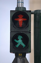 Traffic light by Javier de Martín