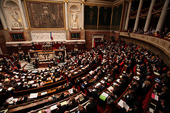 Hémicycle de l'Assemblée Nationale by Parti socialiste