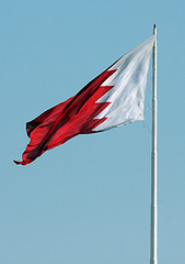 Flag of Bahrain by Pricey