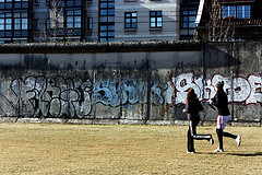 Berlin Wall Sport Mitte by Andreas Lehner