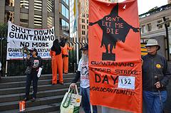 NSA Snowden Bradley Manning Guantanamo protest at Senator Feinstein's office by Steve Rhodes