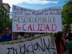 Escuela pública y de calidad by Fermín Grodira