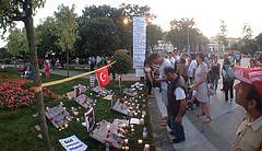 memorial in gezi park by matti keltanen
