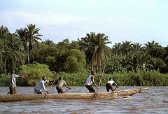 Congo Boatmen by International Rivers