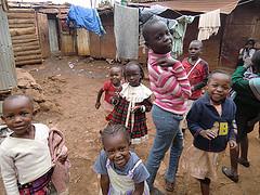 キベラの子どもたち