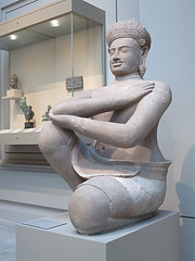Kneeling Male Attendant (One Of A Pair) (Khmer style of Koh Ker), The Metropolitan Museum of Art, New York by Pigalle