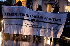 Spontandemonstration anlässlich des Jahrestags der Pogrome von Rostock-Lichtenhagen 1992 am 24.08.2012 in Freiburg by Medien AG // Anarchistische Gruppe Freiburg