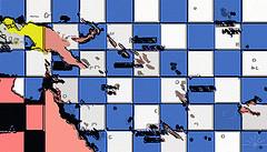 Melanesian Map by AK Rockefeller