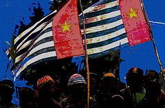 West Papua Morning Star Flags by AK Rockefeller