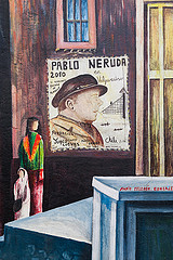 Pablo Neruda by Brigitte Djajasasmita