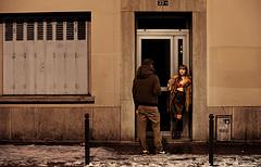 Sonne l'heure où la femme accueille l'homme by Lucie Otto-Bruc