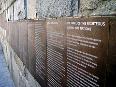 The wall of the righteous among the nations by Rich Watts