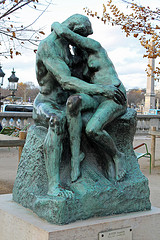 The Kiss by Rodin by Sarah Stierch