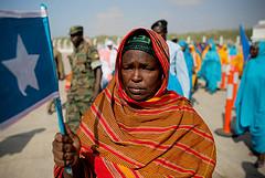 Casket of Former Somali President Flown to Mogadishu by United Nations Photo