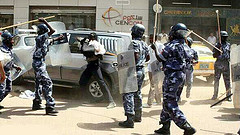 sudan police by Peoples World