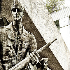 Monument to the Warsaw Uprising by Richard Janecki