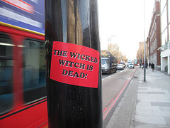 The wicked witch is dead! by duncan