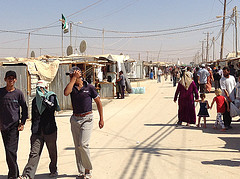 Zaatari refugee camp, Jordan by Foreign and Commonwealth Office