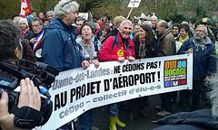 Manifestation à Notre-Dame-des-Landes by cafe repaire de Locmiquelic