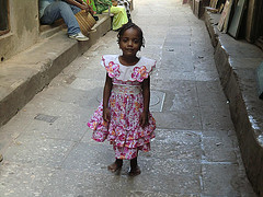 ザンジバルの少女