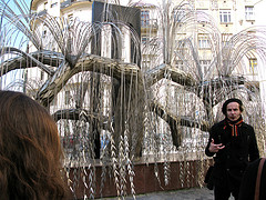 Holocaust Memorial Tree at Dohány Street Synagogue by Charlie Sinclair