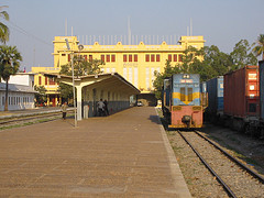 Railway Station, Phnom Penh by Pigalle