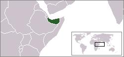 Somaliland map, Wikimedia Commons