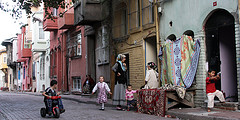 Armenian village street, by imansari