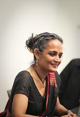 Arundhati Roy by jeanbaptisteparis