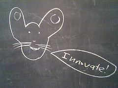 I don't know who put this on my blackboard, but it's a really good idea. by @superamit