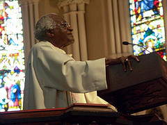 Desmond Tutu, by Vianney (Sam) Carriere