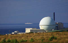 Dounreay and passing ship by jack_spellingbacon
